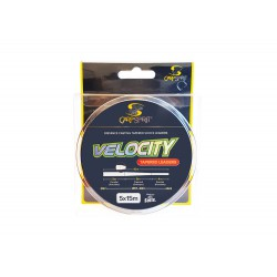 Carp Spirit Velocity Tapered Leaders 5x15 m