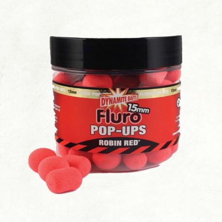 Dynamite Baits Robin Red Fluro Pop-ups & Dumbells 15 mm