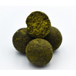Massive Baits Top Shelf GLM Essential-Robin Green Boilies 1 kg