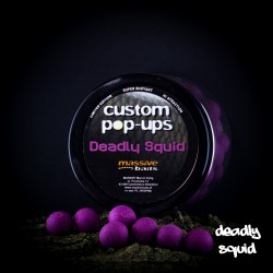 Massive Baits Deadly Squid Custom Pop-ups 14 mm