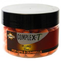 Dynamite Baits CompleX-T Fluro Pop-ups & Dumbells 10 mm